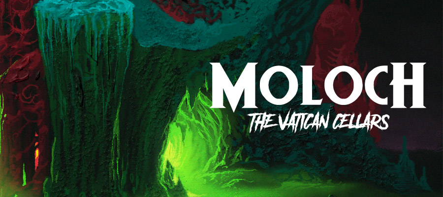 """MOLOCH to release """"The Vatican Cellars"""" 2CD compilation!"""